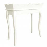 STOLIK Z TACĄ Chic Antique White